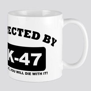 property of protected by ak47 b Mug